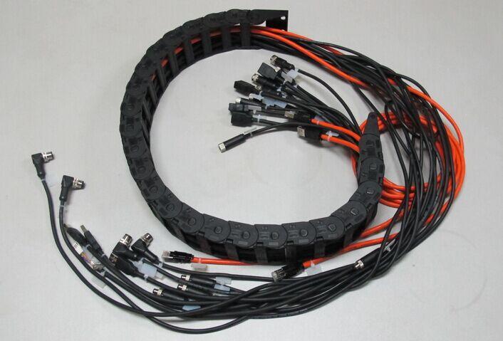 拖链电缆防水多规格连接器组件