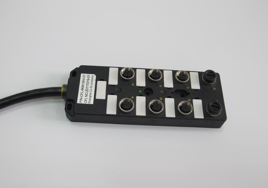 M12 总线分线盒 直接出线式 黑色