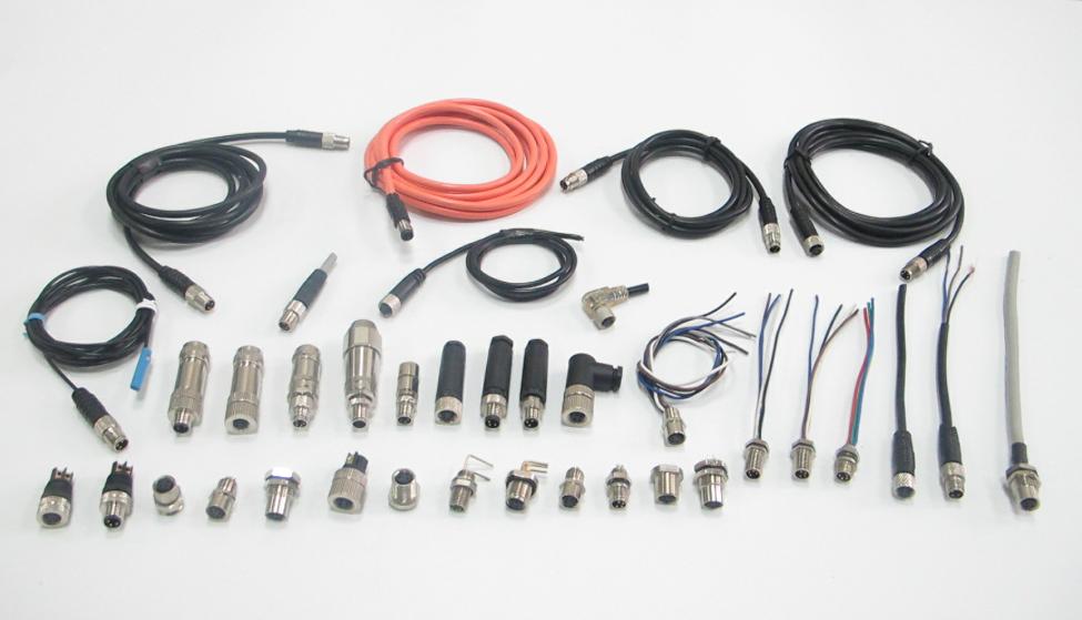 M12双端电缆连接器