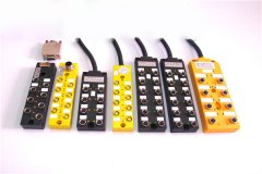 M8总分线盒  出线式  插座式  PNP  NPN