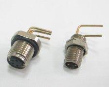 M8弯针PCB板插座
