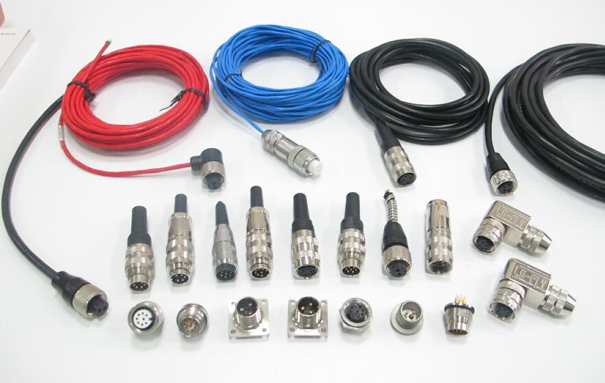 5芯航空插头检测及应用