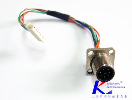 m12连接器D型平头型连接器