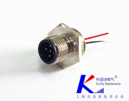 传感器m12航空插头厂家