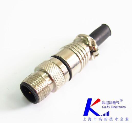 M12连接器不同场合安装方式