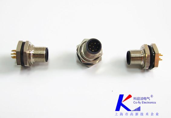 M12圆形金属连接器