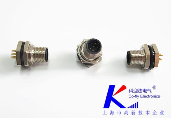 M12连接器电源插头