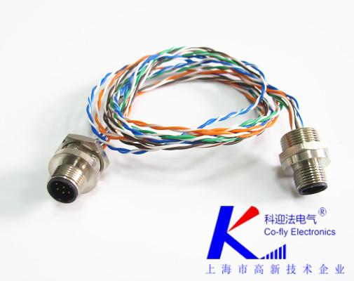 M12连接器壳体加工