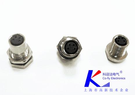 M8 4孔航空插头