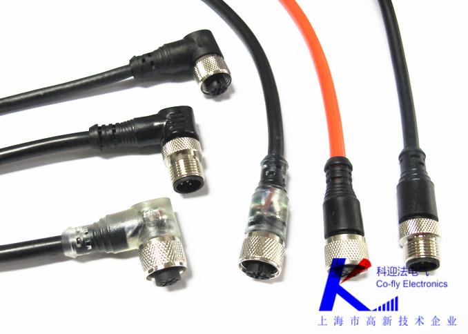 传感器m12航空插头