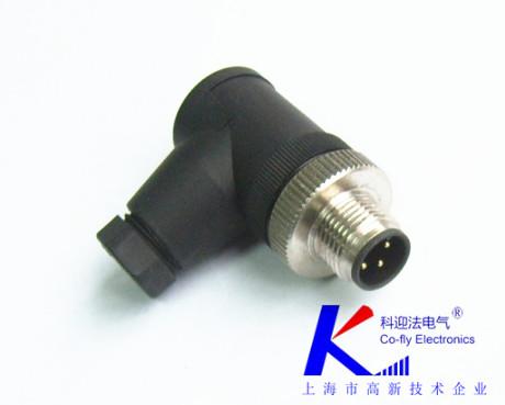 M12连接器-螺钉接线式厂家