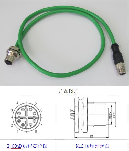 X-CodeM12连接器厂家